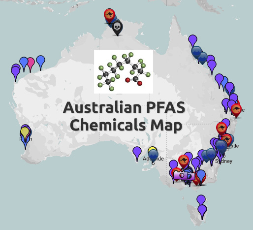 Australian PFAS Chemicals Map